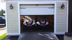 garage door for shedReeds Ferry Sheds Garage Door Opener  YouTube