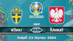 พรีวิว ยูโร 2020 โปแลนด์ ต้องชนะ! เจอ สวีเดน ที่เข้ารอบไปแล้ว
