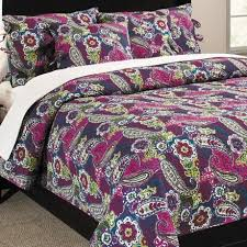 Great bedding set & great value! - Review of Ivy Hill Home ... & Ivy Hill Home Colonial Floral Paisley Cotton Quilt and Sham Set - King Adamdwight.com