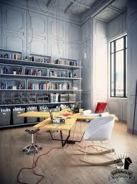 home office design quirky. Awesome Workspace And Home Office Design: Cozy Modern With Multi User Quirky Cross Design F