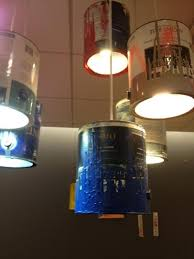 workbench lighting ideas. check these used paint can light fixtures would make really cool work bench lighting in a garage workbench ideas