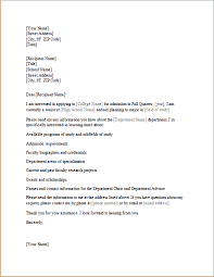 Application Letter Cancellation Admission College Writing And