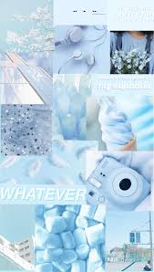 Cute Blue Aesthetic Wallpapers ...