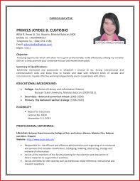 Cv Format Job Interview Cv Format Job Interview Resume Format