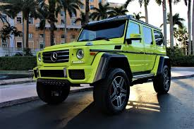 Luxury vehicles include all models from dedicated luxury brands plus luxurious models selected by our editors. Used 2017 Mercedes Benz G Class G 550 4x4 Squared For Sale 189 850 The Gables Sports Cars Stock 276738