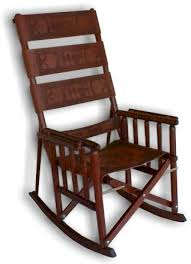 wood and leather chair. Rock Tall Delux Tool.jpg (29996 Bytes) Wood And Leather Chair