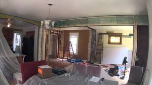 House Living Room Remodel Time Lapse YouTube - Living room renovation