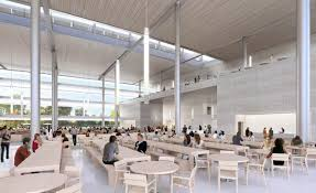 norman foster office. 01 - Cafeteria Restaurant In Apple\u0027s New Headquarters. (copyright Apple / Foster + Partners Norman Office
