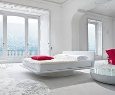 My Future Bedroom: A Room With 360 Degrees Of Floor To Ceiling Windows, And  This Swivel Bed To Rotate To Wherever The View Is Best.