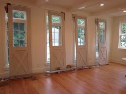image of interior barn doors for homes with roof design