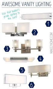 vanity bathroom lighting. awesome contemporary and modern vanity lighting that will cast a soft glow in your bathroom via
