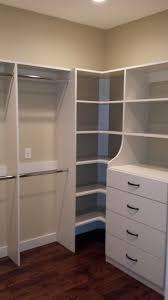 corner closet shelves wonderful corner closet shelf unit muebles closet shelves