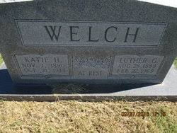Luther Grover Welch (1888-1969) - Find A Grave Memorial