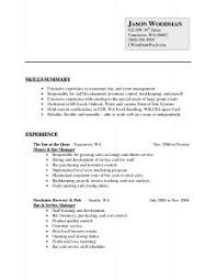 Resume Template Sample Format For Fresh Graduates One Page