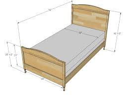 Exciting Twin Bed Measurements 20 Modern Decoration Design With