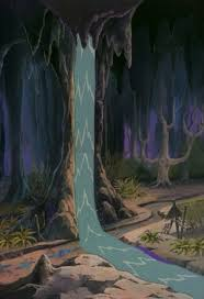 Upside Down Art Dungeons Dragons Cartoon Encyclopedia River That Rains Upside Down