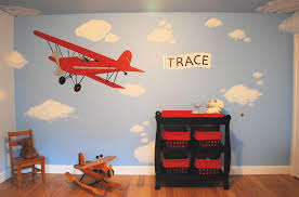 airplane wall decals for kids rooms
