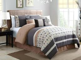 teal and tan bedding blue comforter sets bed for queen size brown