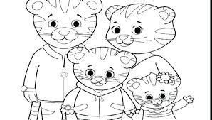 Top Rated Daniel Tiger Coloring Page Images Tiger Picture To Color