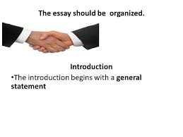 descriptive essay purpose the purpose of a descriptive essay is 5 the essay should be organized introduction the introduction begins a general statement