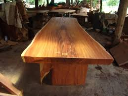 Rosewood Dining Table Live Edge Dining Table Reclaimed Solid Slab Rosewood Extremely