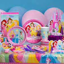 Disney Theme Decorations 1st Birthday Party Supplies Featuring Disney Princess Disney Baby