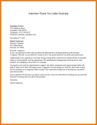 11 Thank You Letter After Interview Template Mbta Online