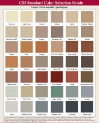 Davis Concrete Color Chart Color Charts For Integral And Standard Cement Colors