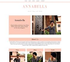 Weebly Website Templates Delectable Weebly Template In Lovely Coral With Website Blog And Shop All In