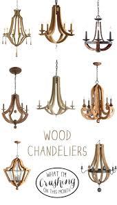wooden chandelier wood chandeliers beads full size