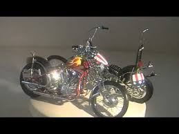 easy rider bikes captain america billy bike youtube
