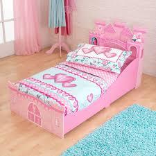 Princess Castle Bedroom Furniture Kidkraft Princess Castle Toddler Bed 76260 Walmartcom