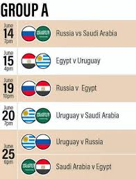 World Cup Tournament Chart Where To Watch 2018 Fifa World Cup Matches In Abu Dhabi And