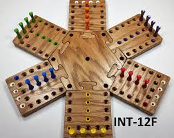 Wooden Aggravation Board Game Wooden Sequence Board Game Wood board game Etsy 100 82