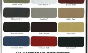 Metal Building Colors Chart Burnished Slate Metal Roof Hangar Unique Walls Smokey Pewter