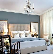 bedroom feature wall ideas remarkable blue and cream bedroom decorating  ideas in modern house with blue