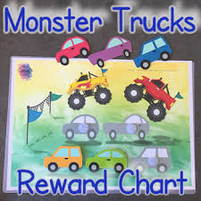 Monster Truck Reward Chart
