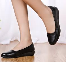 ultra soft black leather work flat mother single shoes comfortable heel specials shoes shoes shoes with 33 54 pair on brilliant888 s