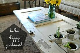 table chic door coffee table with hairpin legs old diy