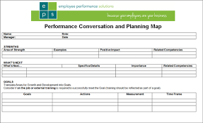 Simple Employee Review Simple 1 Page Performance Review Form
