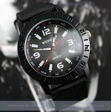 black military army pilot fabric strap sports outdoor mens quartz black military army pilot fabric strap sports outdoor