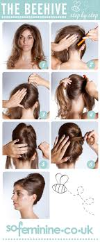 How To Make A Hair Style how to do a beehive hairstyle step by step beehive hairstyle 2289 by wearticles.com