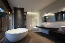 Luxury Modern Bathroom Ideal On Bathroom And