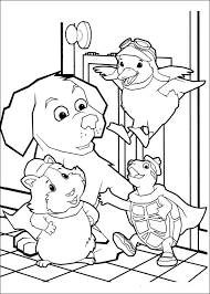 Small Picture Fun Coloring Pages Wonder Pets Coloring Pages