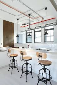 industrial lighting for home. Industrial Lighting For Home Design Kitchen With  Copper Pipe Breakfast Bar .