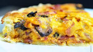 bacon and mushroom quiche recipe add