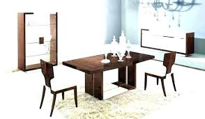 full size of modern glass dining table set and leather chairs round for 4 luxury living