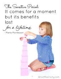 Best Maria Montessori Quotes Bits Of Positivity Fascinating Maria Montessori Quotes