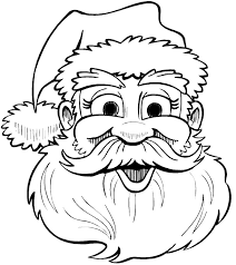 santa claus face coloring page. Santa Face Coloring Pages Pictures IMAGIXS Intended Claus Page
