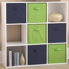 wooden cubby storage unit nine compartments in cubes